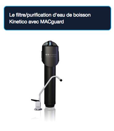 Purital - Produits - Traitement d'eau - Filtre à eau - Purification d'eau - Kinetico
